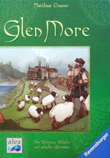 Glen More. Caja del juego