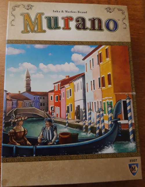 Murano. Caja del juego