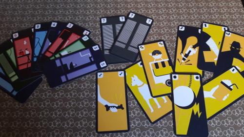 GoTown. Tipos de cartas
