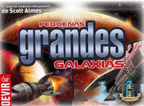 Pequeñas Grandes Galaxias. Caja del juego