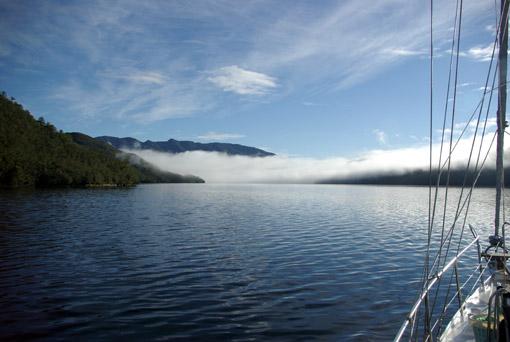 Nebel in der Bahia Anna Pink