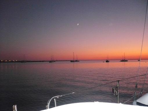 Sonnenuntergang im Alvor