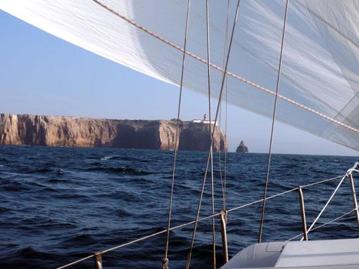 Capo San Vincente kurz vor der Algarve