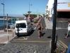 Bushaltestelle direkt am Hafen