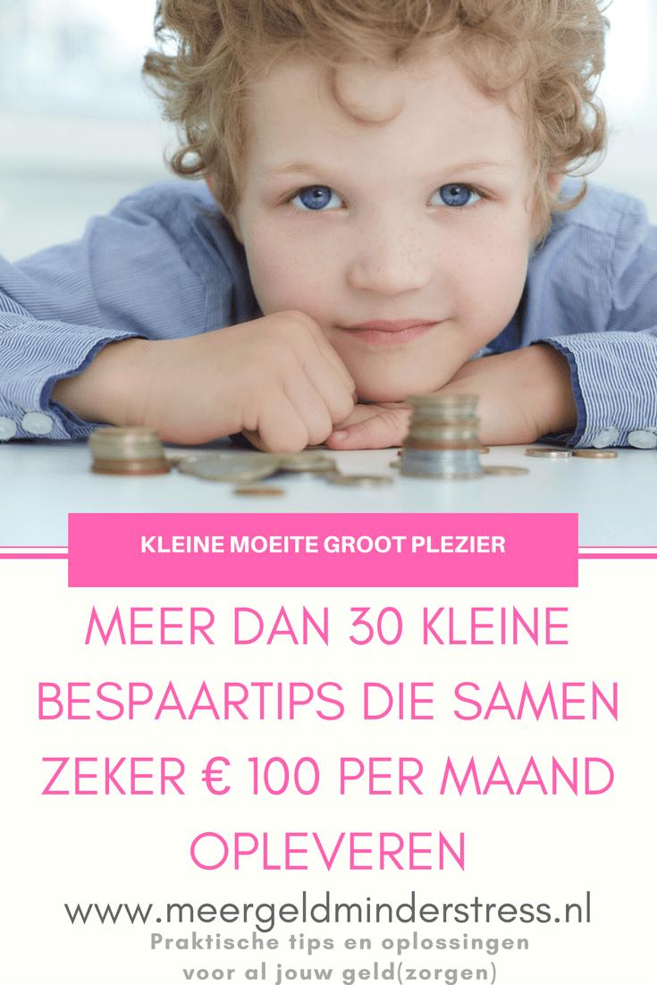 30 kleine bespaartips #bespaartips #geldbesparen #kleinebespaartips #eurosparen #meergeldminderstress - Meergeldminderstress