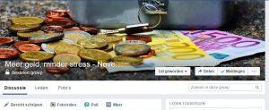 besparen -Facebookgroep