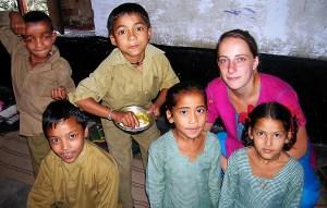 Daisy vrijwilligerswerk India