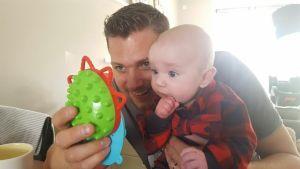 restschuld - Matthijs en baby