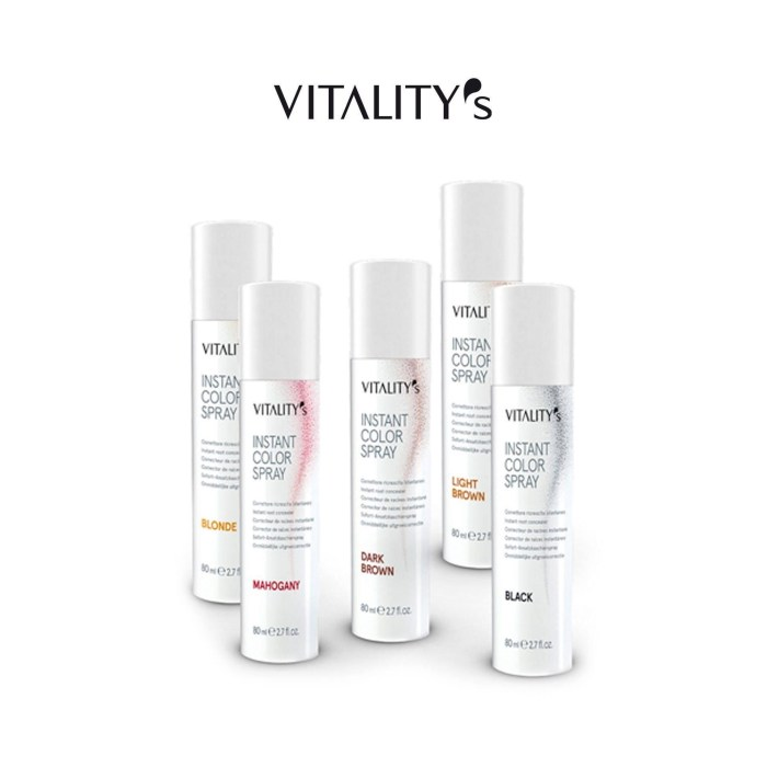 vitality's instant color spray