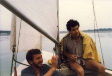 Polen 1986 Vissen-zeilen-paddest0001