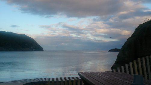 Het wordt saai, maar fantastisch uitzicht over de fjord