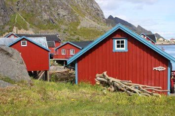 Rorbuer in de plaats met de kortstmogelijke naam Å
