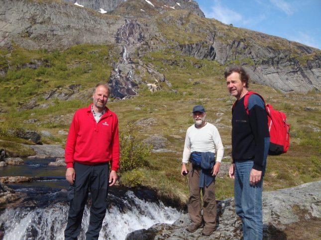 Wandeling bij Sørvågen