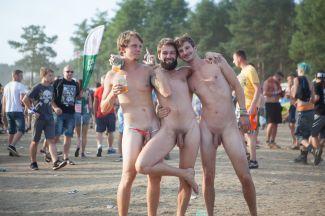 Woodstock Poland 3 jongens