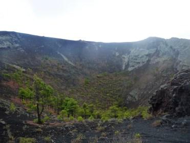 34 De krater van Volcán San Antonio