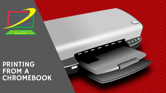 how to print from a chromebook using existing printers