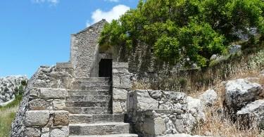 Agios Georgios church in Voila Crete