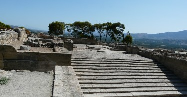 Phaistos Palace, the most splendid representative of Minoan architecture