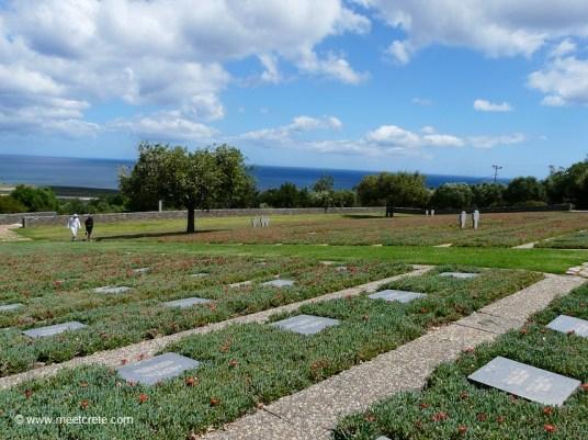 German war cemetery in Maleme