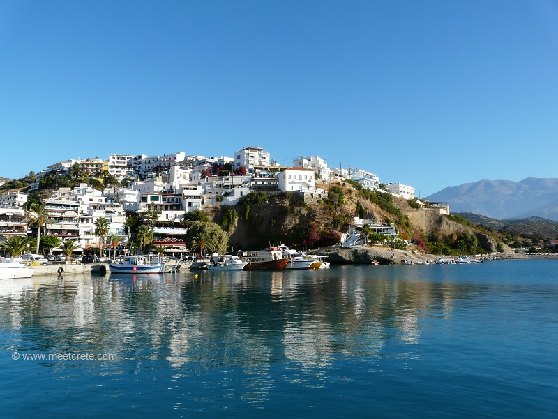 agia galini crete overview