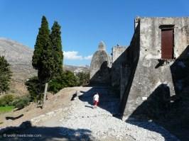 The Lower Preveli Monastery - Entrance
