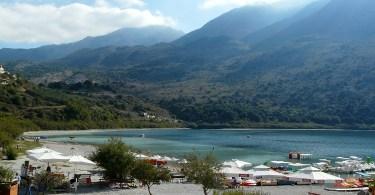 Kournas lake near Georgioupolis Crete