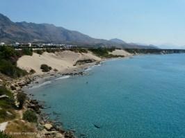 Orthi Ammos beach Frangokastello Crete