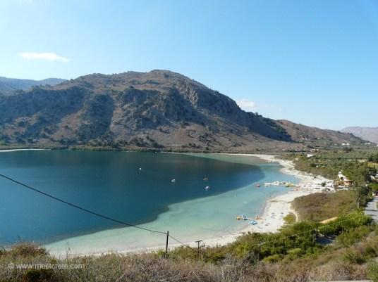 Kournas lake near Georgioupolis village Crete