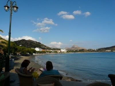 relax in Plakias Crete