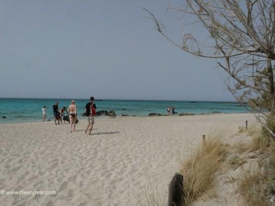 Elafonisi Strand - exotische Lagune im südwestlichen Kreta