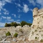 The Fortezza fortress in Rethymnon Crete