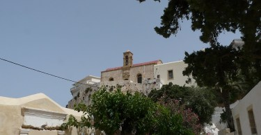 Chrysoskalitissa in Crete - the monastery with the golden step
