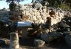 Ancient city Lato in Crete