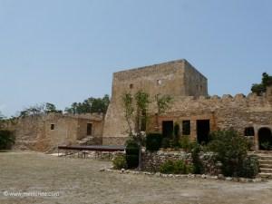 Kazarma Fortress in Sitia Crete
