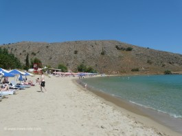 Beach at the northern outskirts of Geogioupoli Crete