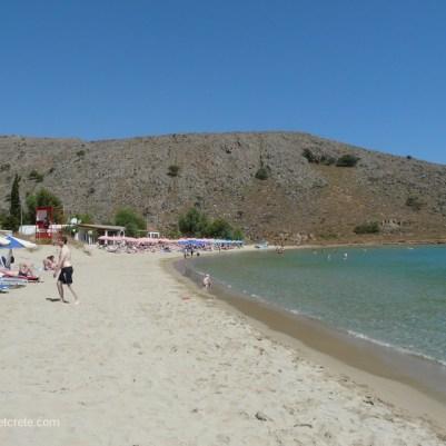 "Strand ""Kalivaki"" im Dorf Georgioupolis"