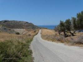 Shinaria beach at Plakias Crete