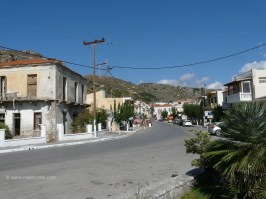 in Kolymbari village Crete