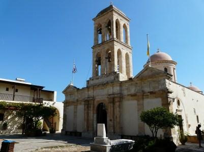 Katholicon of Gonia Monastery at Kolymbari Crete