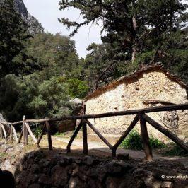 Samaria gorge in Crete_ Church Agios Nikolaos