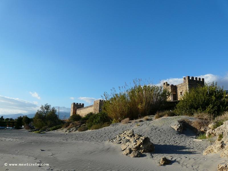 Frangokastello - seaside settlement with Venetian fortress