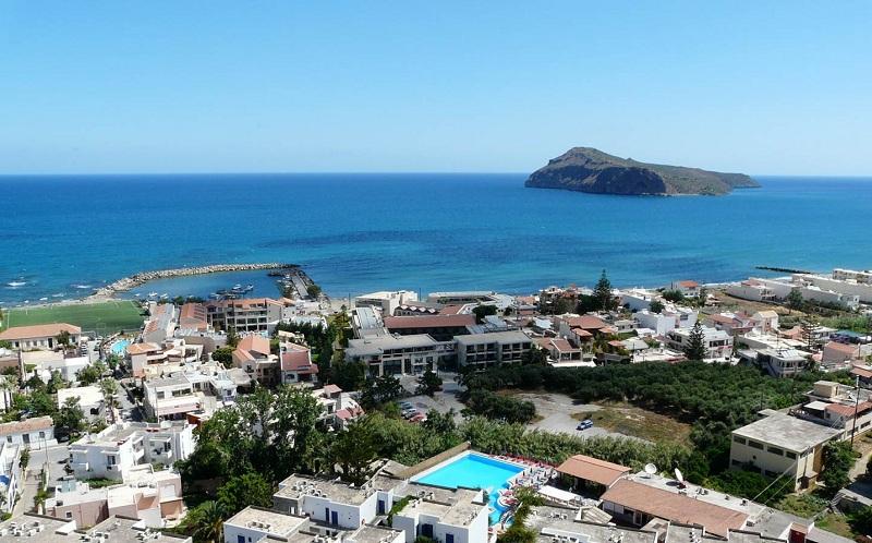 Platanias – classic seaside resort at Crete's north west coast