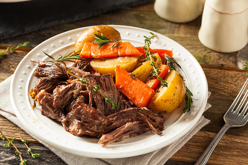 Braised Beef with Carrots