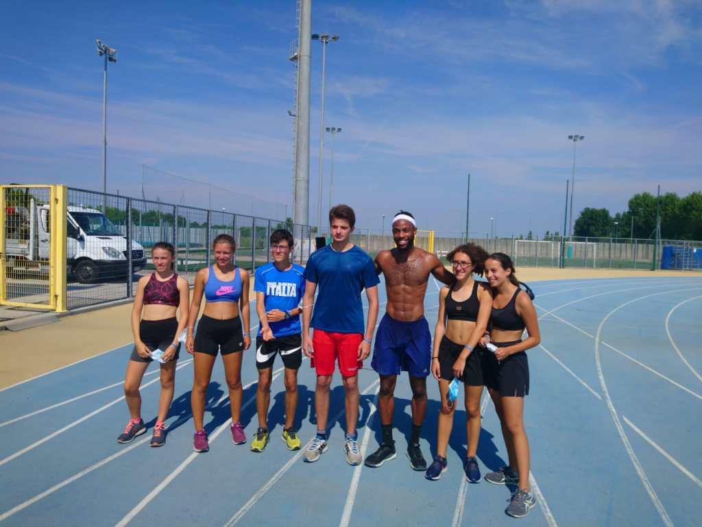 Gruppo atleti