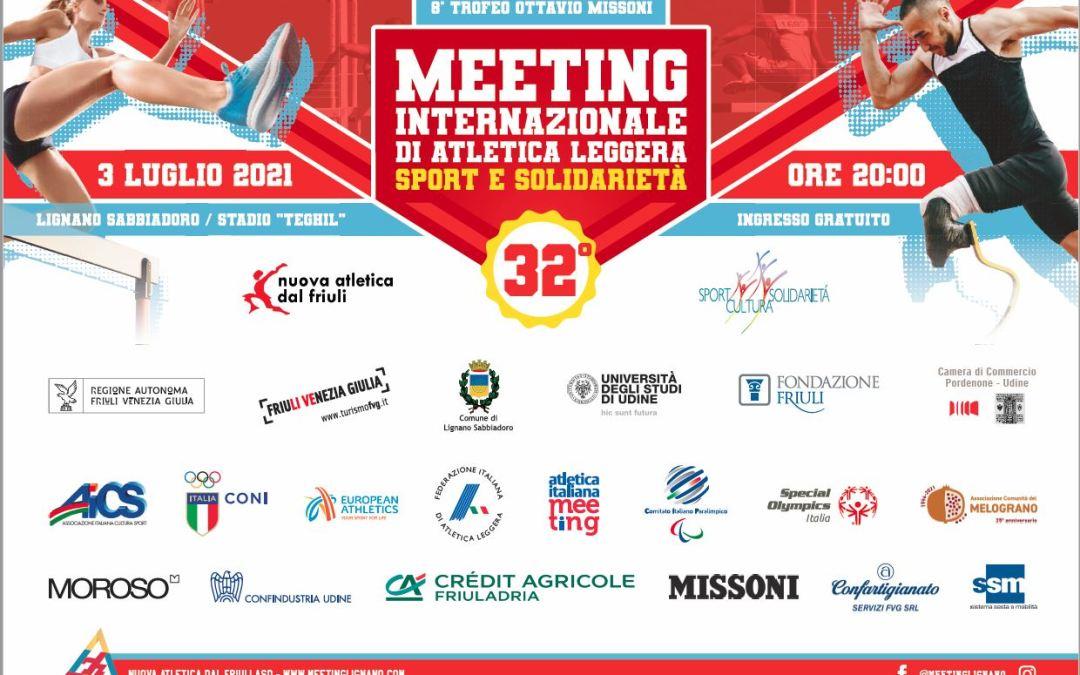 150 atleti da 23 paesi il 3 luglio a Lignano