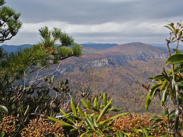 Photo of the Linville Gorge, North Carolina