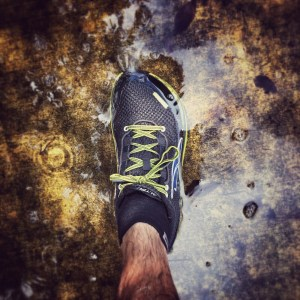 Running in standing water