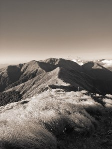 View of Tararua Mountains, New Zealand