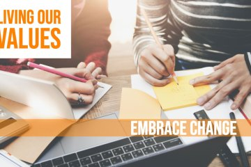 Living Our Values - Embrace Change feature image