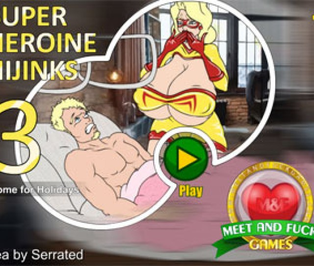 Super Heroine Hijinks  Home For Holidays